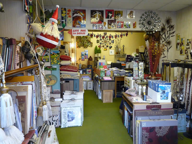 Interior Of Blewes Shop In Worcester Street Stourbridge