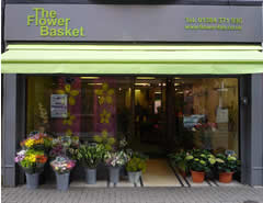 Flower Basket shop front