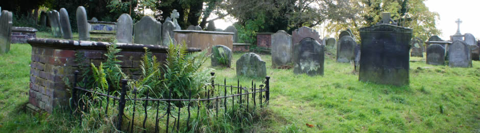 Graveyard, St Mary's Church, Oldswinford