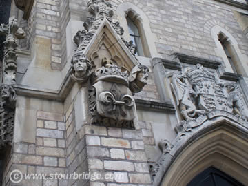 Detail features of King Edward's college