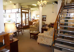 Inside the Pargeters furniture store, Stourbridge