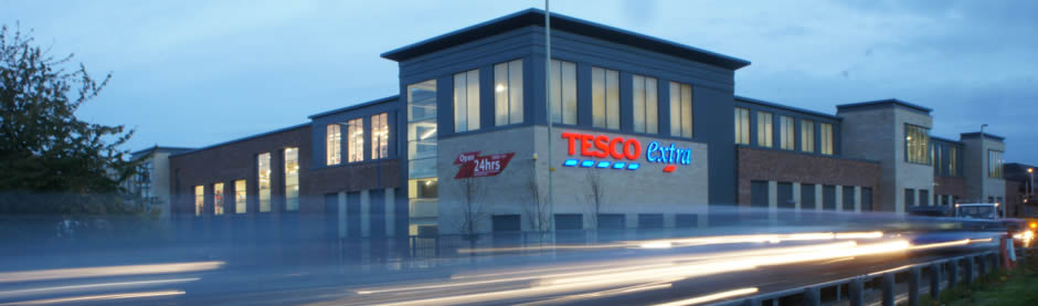 Opening of the new Tesco Extra store in Stourbridge
